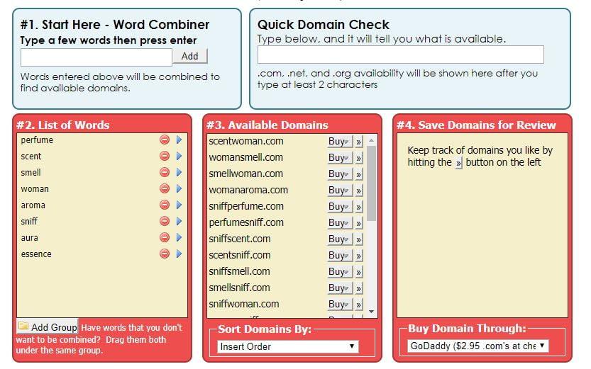 bustaname domain name
